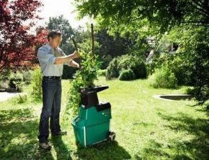 Machine à broyer pour le compostage